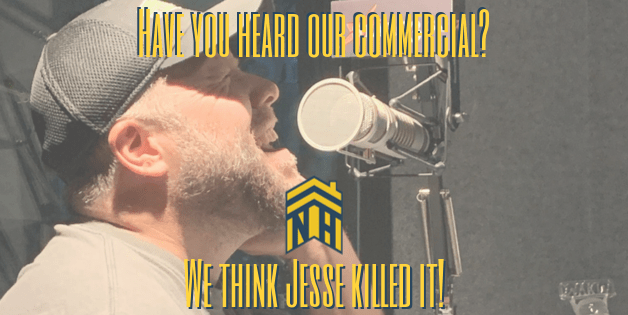 Have you heard our commercial? We think Jesse killed it!