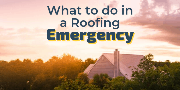 What to do in a Roofing Emergency